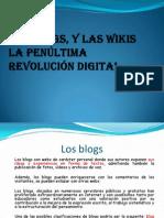 Los blogs y wikis, la penúltima revolucion digital-1