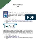 Periodocos Eletronicos Letras