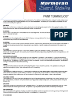 Glossary of Paint Terms-Marmoran.co.Za