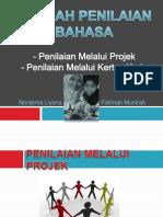 Kaedah Penilaian Bahasa Melalui Projek dan Kertas Kerja