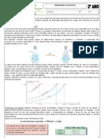 Apostila  Química 3 - Propriedades coligativas