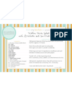 Tortellini Pasta Salad Recipe Card