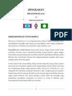 Ringkasan Belanjawan Pakatan Rakyat 2012