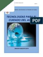 Tecnologias Para El Cuidado Del Agua.s