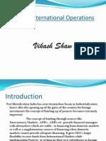 Financing International Operations