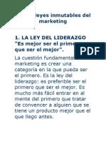 Las 22 leyes inmutables del marketing versión Círculo de Estudios Ars Longa