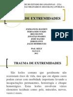 Slides Trauma - Pronto Socorrismo