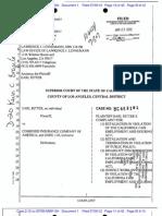 EARL RITTER v. COMBINED INSURANCE COMPANY OF AMERICA et al Underlying Complaint