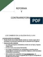 2011 Clase 13 Reforma y Contrarreforma s XVII