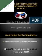 ANOMALÍAS DENTO MAXILARES