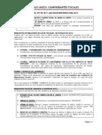 Comprobantes Fiscales Resumido 1julio2012