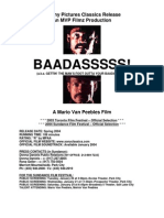 Baadasssss [Press Kit]