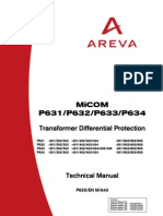 Micom 631 Technical Manual
