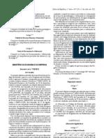 REGULAMENTO DE HABILITAÇÃO LEGAL PARA CONDUZIR E ALTERAÇÃO AO CODIGO DA ESTRADA - DL 138