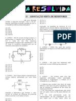 Simulado UFRGS - Associação Mista de Resistores