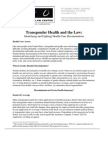 Health Law Fact Sheet
