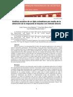 A009 (Acero) Analisis Acustico de Un Tiple Colombiano