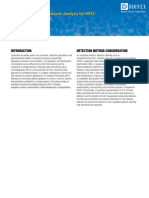HPLC Surfactant Alalysis