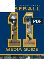 2011 Men's Baseball Media Guide