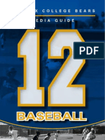 2012 PC Mens Baseball Media Guide