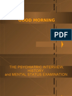 Psychiatric Interview & Mental Status Exam