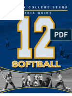 2012 PC Womens Softball Media Guide