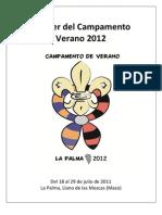 Dossier Del Campamento de Verano 2012