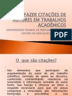 COMO FAZER CITAÇÕES DE AUTORES EM TRABALHOS ACADÊMICOS-1