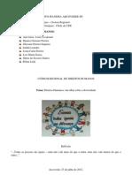 I FÓRUM REGIONAL DE DIREITOS HUMANOS