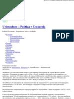 O transporte rodoviário _ Uvirundum – Política e Economia