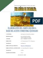 PROYECTO DE INVESTIGACIÓN del JABON DE ACEITE 1