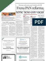 Frena PAN reforma constitucional en DDHH