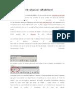 Controles de Formulario Excel 2007