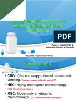 Antagonistas 5-HT3 en CINV. Natalia Uribe Química y Farmacia UACH. ENVIADO