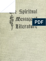 The Spiritual Message of Literature by K.S. Guthrie