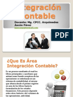 Integración Contable