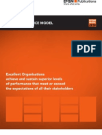 EFQM Excellence Model Teaser