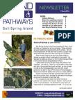 Island Pathways Newsletter Fall 2010