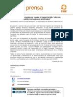 """PROYECTO DIALOGA REALIZA TALLER DE CAPACITACIÓN """"DIÁLOGO, MINERÍA Y DESARROLLO SOSTENIBLE"""""""