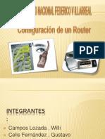 configuración del Router