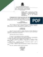 Lei n 1.369 2007 Estrutura de Cargos Efetivos