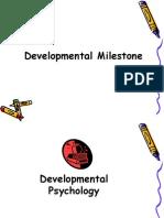 Developmental Milestones Presentation