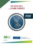 Salt Spring Cycling Survey