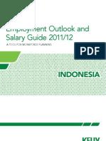 Sallary 2012 Indonesia