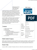 NHPC Limited - Wikipedia, The Free Encyclopedia