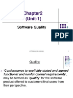 Chapter2-unit1-software quality