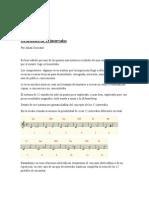 La melodía en 12 intervalos por Julian Graciano