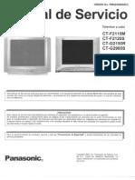 Panasonic Ct g2150r Ct g2985s Ct f2120s Ct f2115m