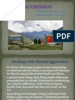 Chinese Aggression