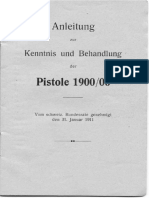 Instruction for Knowledge and Treatment of the Pistole 1900 l 06 (Luger) (31 January 1911) ^German^